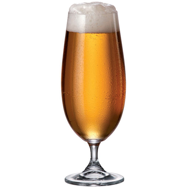 Чаша Bohemia Glass Sylvia Beer, 6 бр., 380 ml