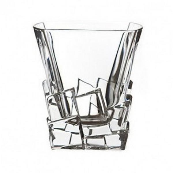 Чаша уиски Bohemia Crack, 6 бр., 310 ml
