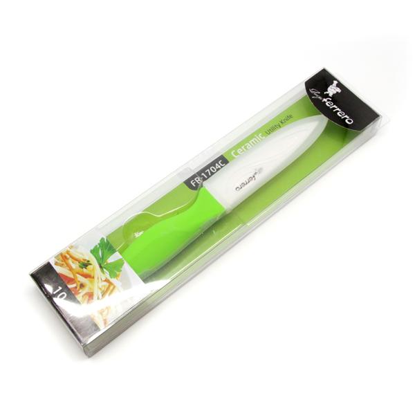 Нож LF FR-1704C,керамичен,10 сm, зелен