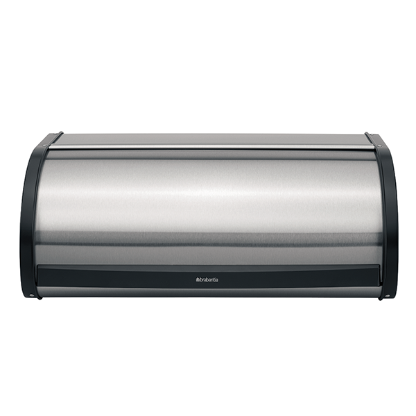 Кутия за хляб Brabantia Roll Top, Matt Steel FPP