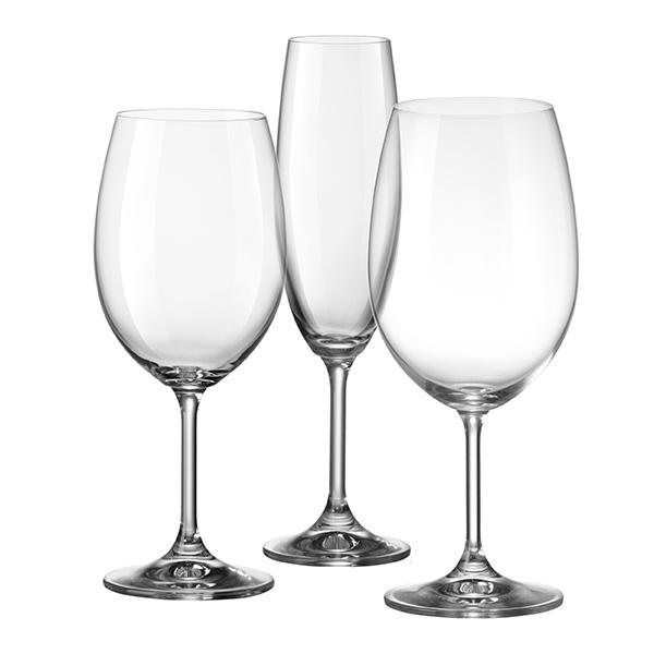 К-т за вино Bohemia Royal 452259, 18 части
