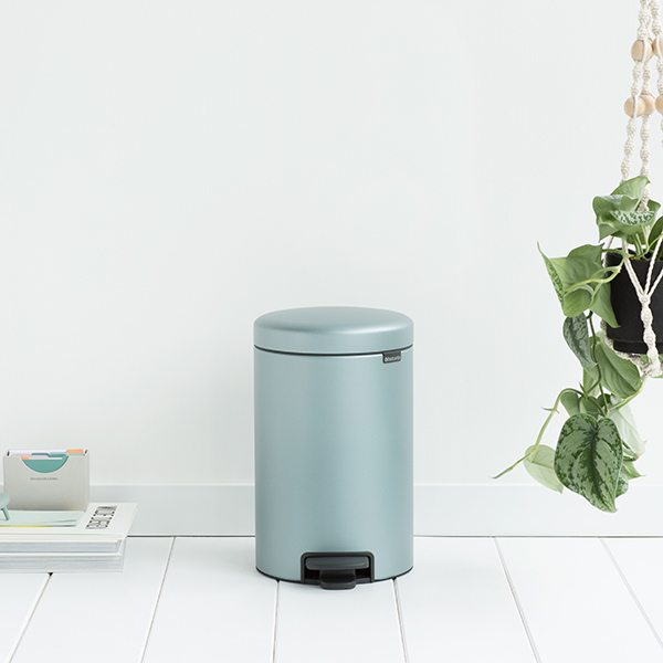 Кош с педал Brabantia NewIcon 12 L Metallic Mint