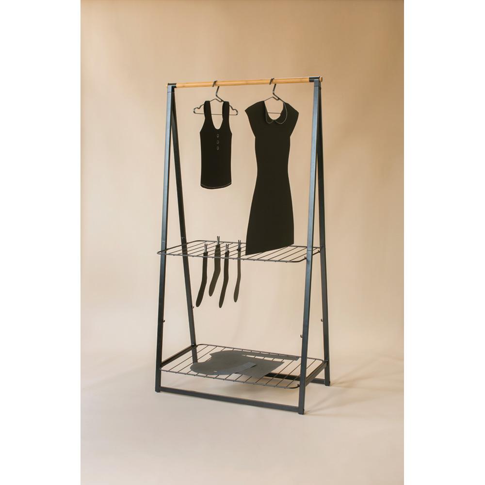 Стойка и сушилник за дрехи Linn, Large - Black