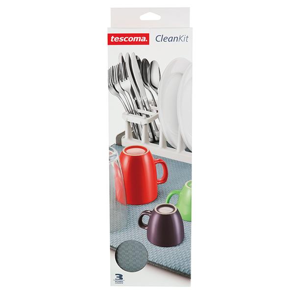 Сушилник за прибори с микрофибърна подложка Tescoma Clean Kit