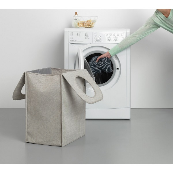 Торба пране Brabantia правоъгълна 55 L Grey