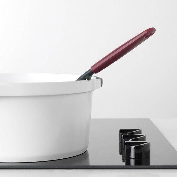 Шпатула за готвене и сервиране Brabantia Tasty+, Aubergine Red
