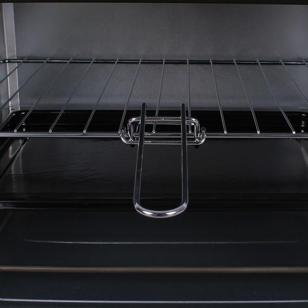 Малка готварска печка MUHLER MN-3809 бяла