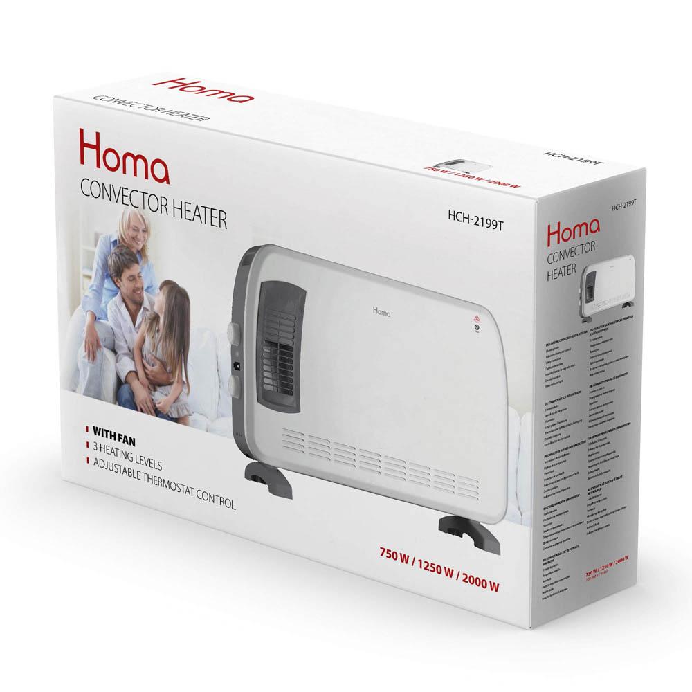 Конвекторна печка HOMA HCH-2199T