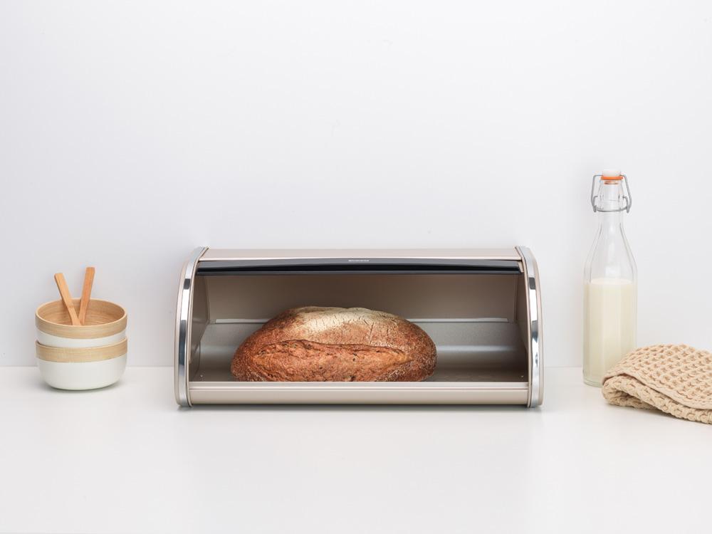 Кутия за хляб Brabantia Roll Top Champagne
