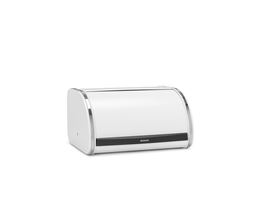 Кутия за хляб Brabantia Roll Top, Medium, White