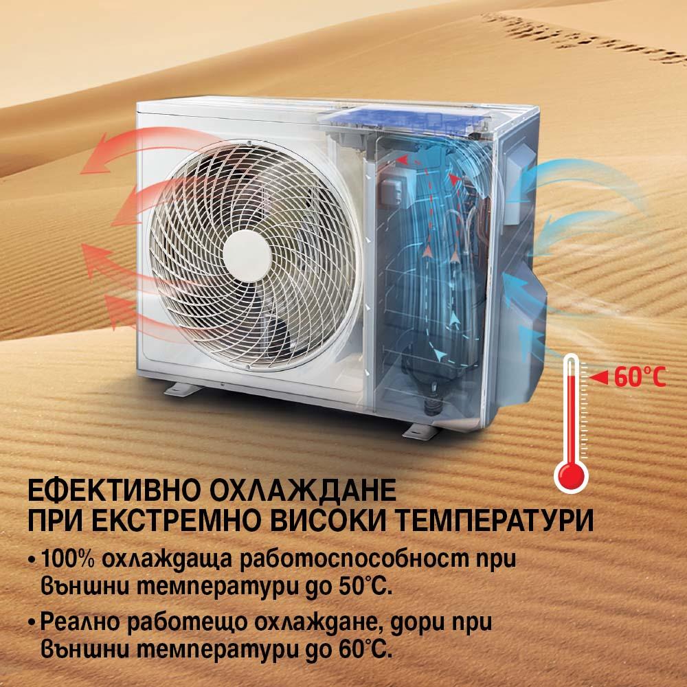 Климатик Инверторен DIPLOMAT DAC-120CASmart-UVC