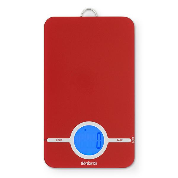 Дигитална кухненска везна Brabantia, Red