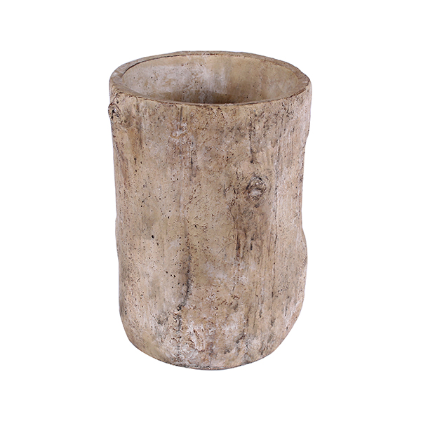 Керамична кашпа, 15х20 cm, дънер
