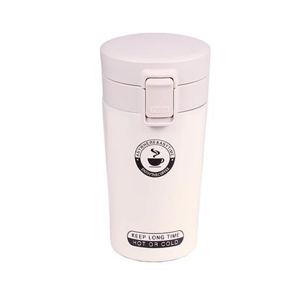 Термо чаша, 400 ml, бяла