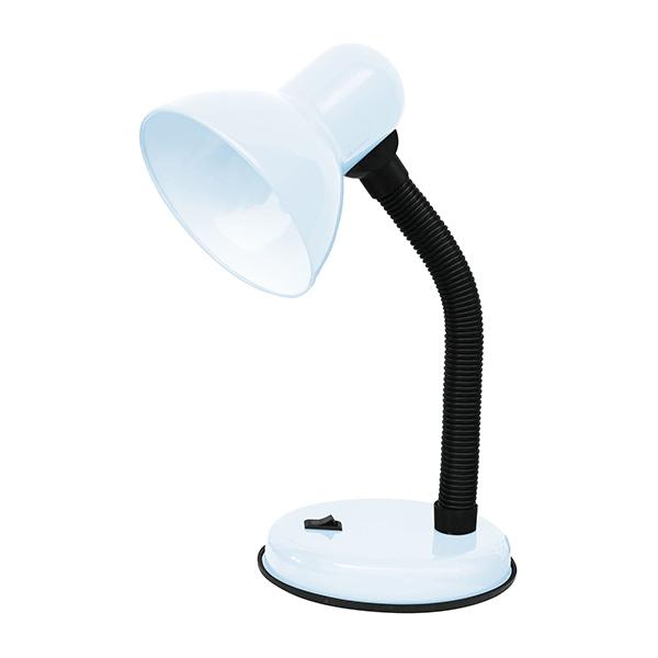 Настолна лампа Jako, Е27, Бяла